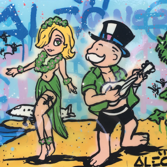 Island Graffiti Girl, Alec Monopoly, Popular