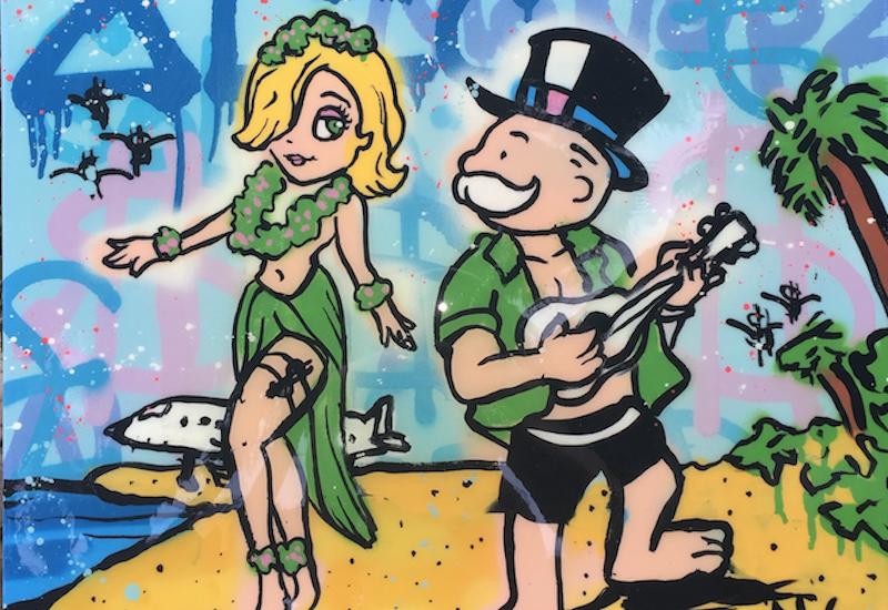 Island Graffiti Girl, Alec Monopoly, Popular