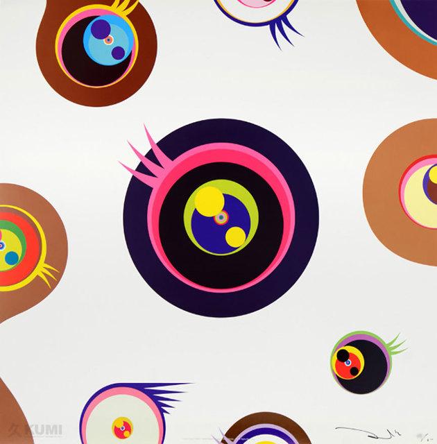 Jellyfish Eyes White by Takashi Murakami