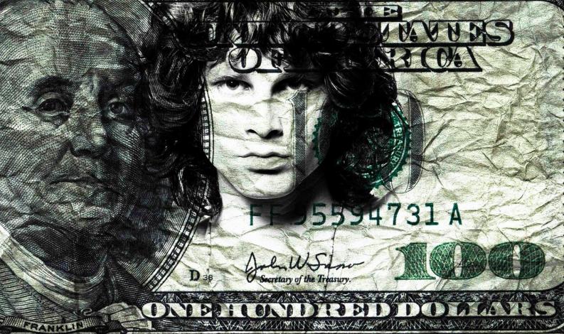 Jim Morrison by Gad Berry