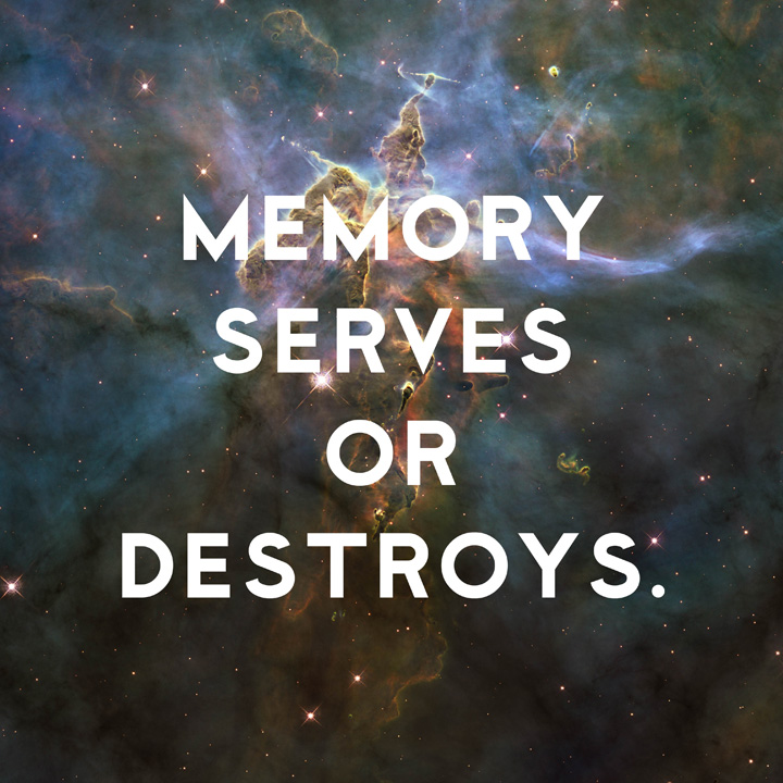 Memory Serves or Destroys by Donny Miller