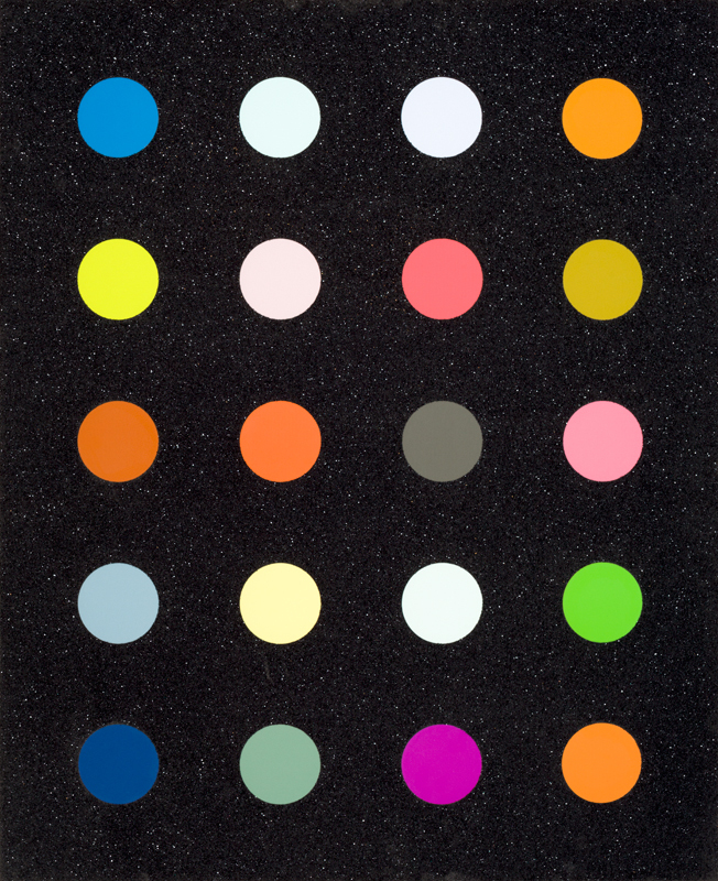 Methylamine 13c by Damien Hirst