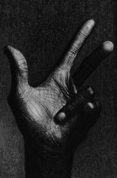 Miles Davis Hands by Alex Cao
