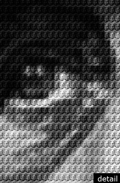 Mother T vs Gandhi Detail