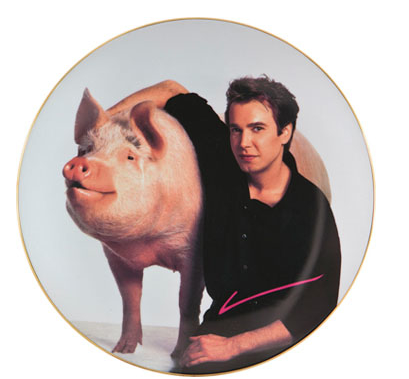 Parkett Signature Plate by Jeff Koons