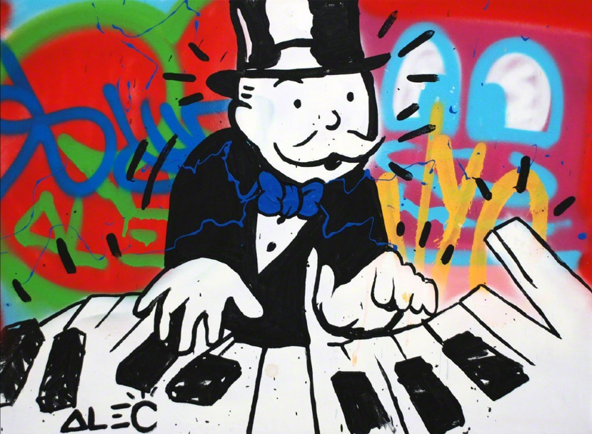 cc9baa4124c Piano Man by Alec Monopoly - Guy Hepner