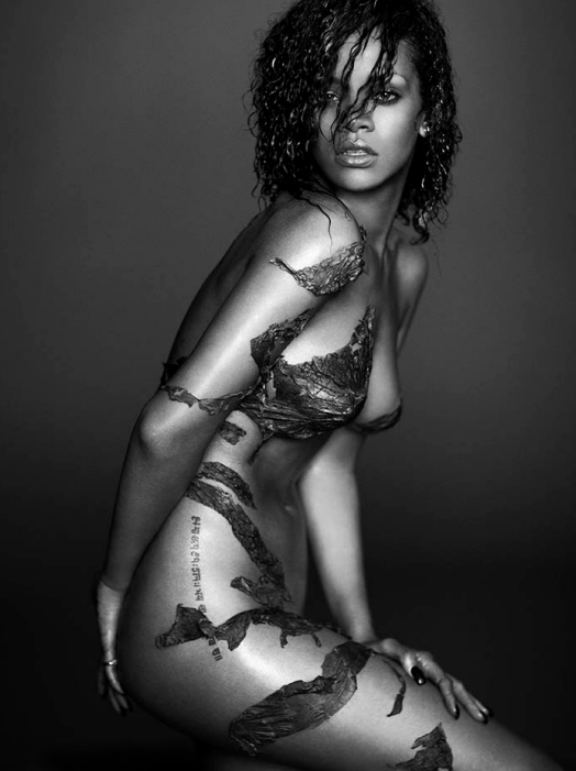 Rihanna Body Art by Russell James