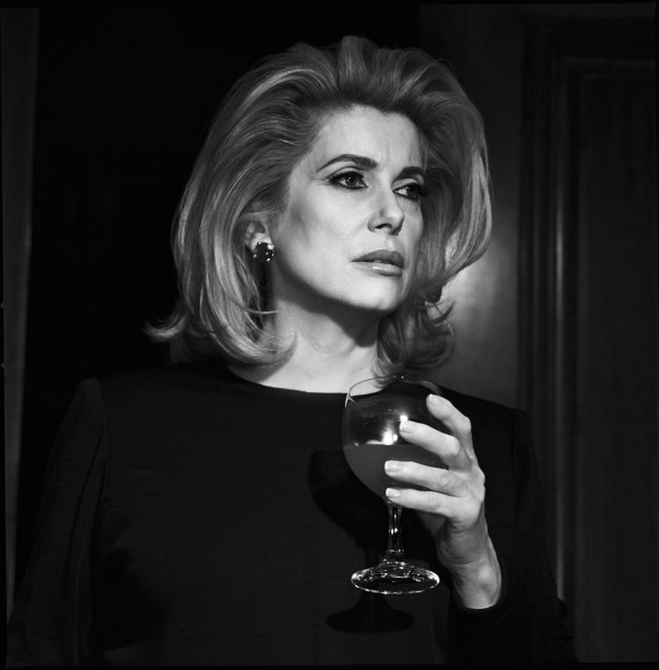 Catherine Deneuve by Michel Comte