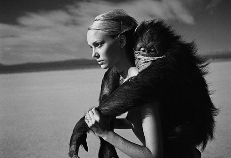 Jamie Rishar Monkey by Michel Comte , michelcomte, comte, fashion