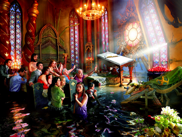 Cathedral by David LaChapelle