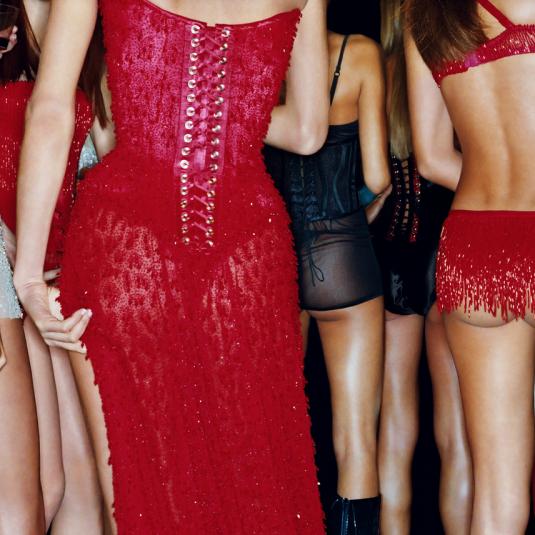 gavinbond, fashion, photography, bond, victorias secret, Scarlett Backstage II by Gavin Bond