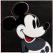 andy warhol, pop art, warhol, myths portfolio, Diamond Dust Mickey Mouse by Andy Warhol