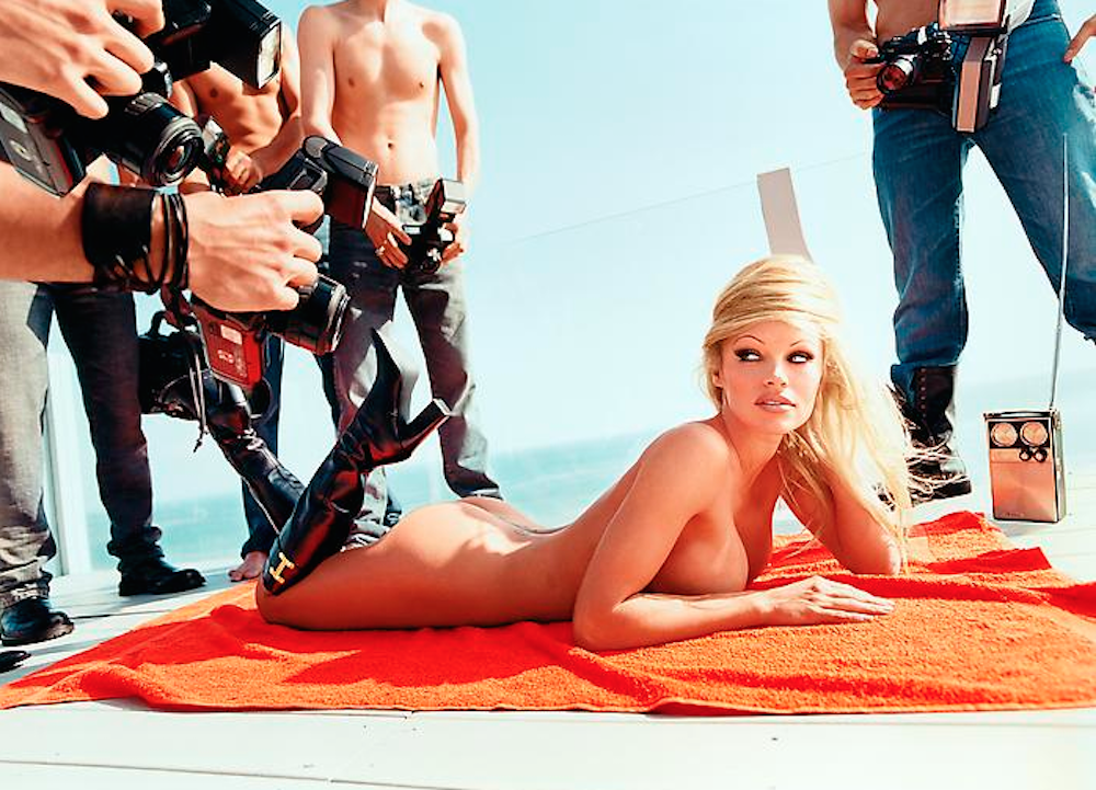 Pamela Anderson: Voluptuous Attentions