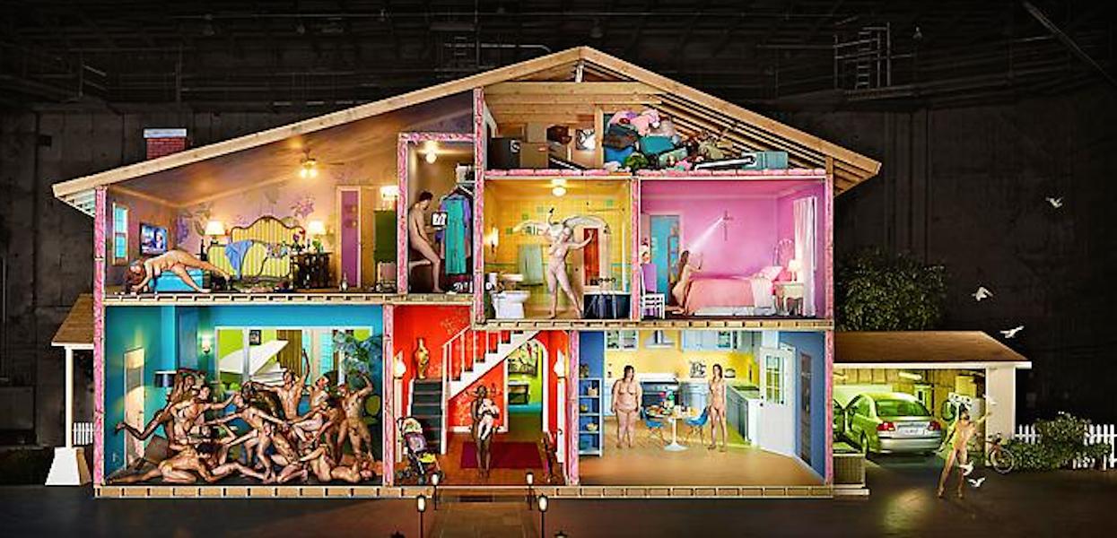 Self portrait as House by David LaChapelle