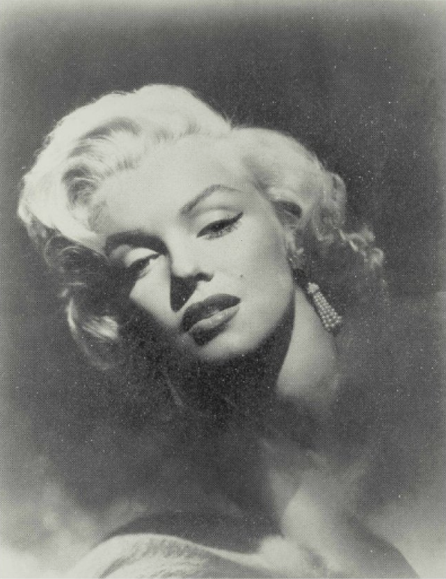Marilyn Monroe Glamour by Russell Young