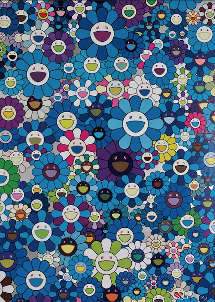 An Homage to IKB by Takashi Murakami
