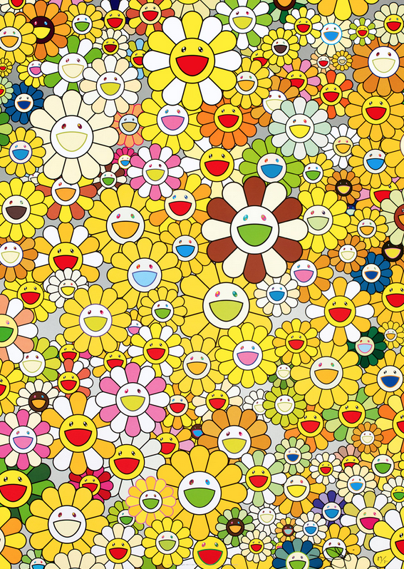 Homage to Monogold by Takashi Murakami