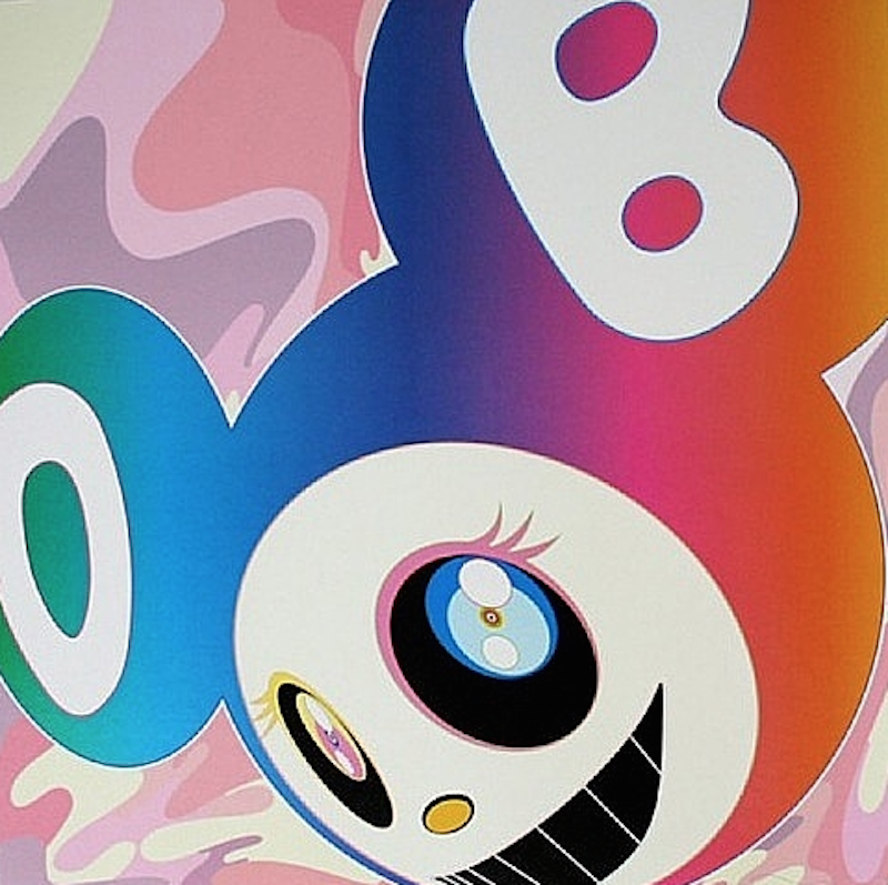 Mr.Rainbow DOB by Takashi Murakami