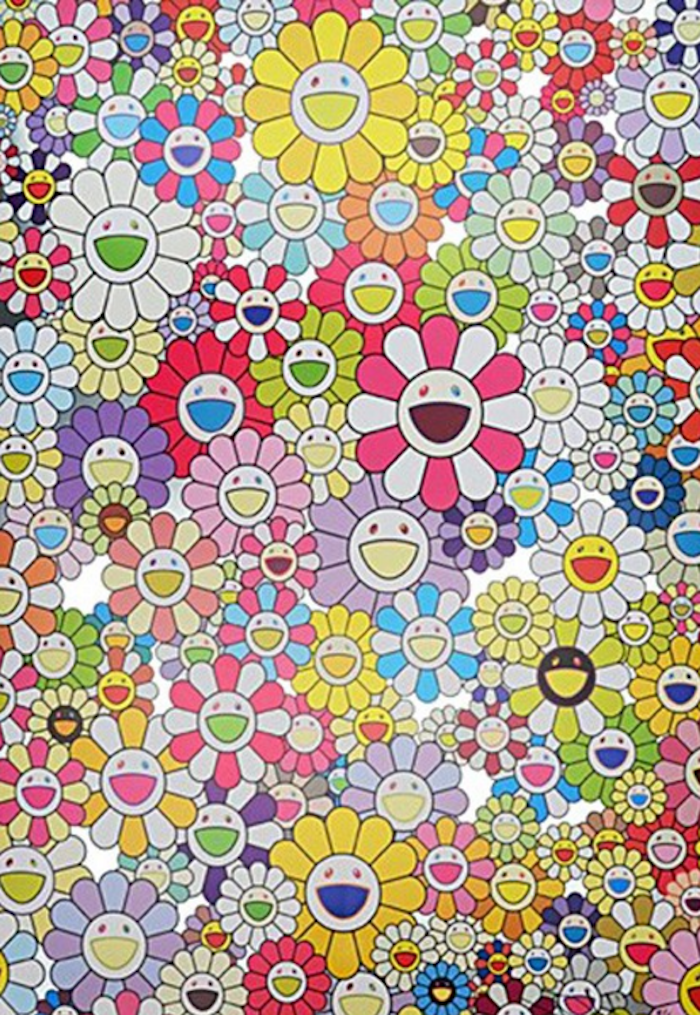 Homage to Yves Klein by Takashi Murakam