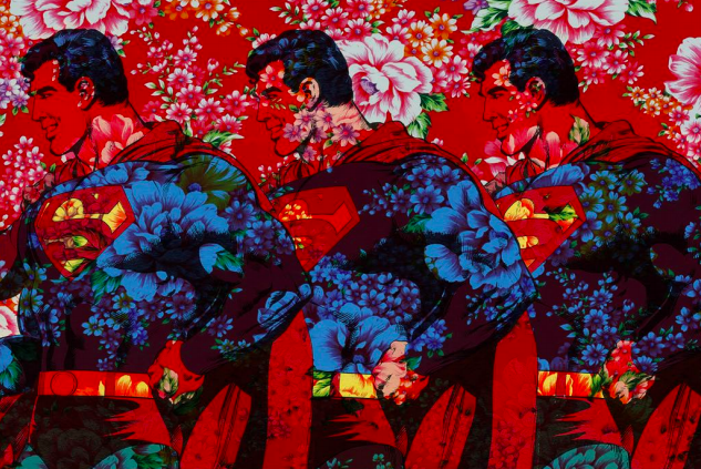 Superman Flower Power by Gad Berry