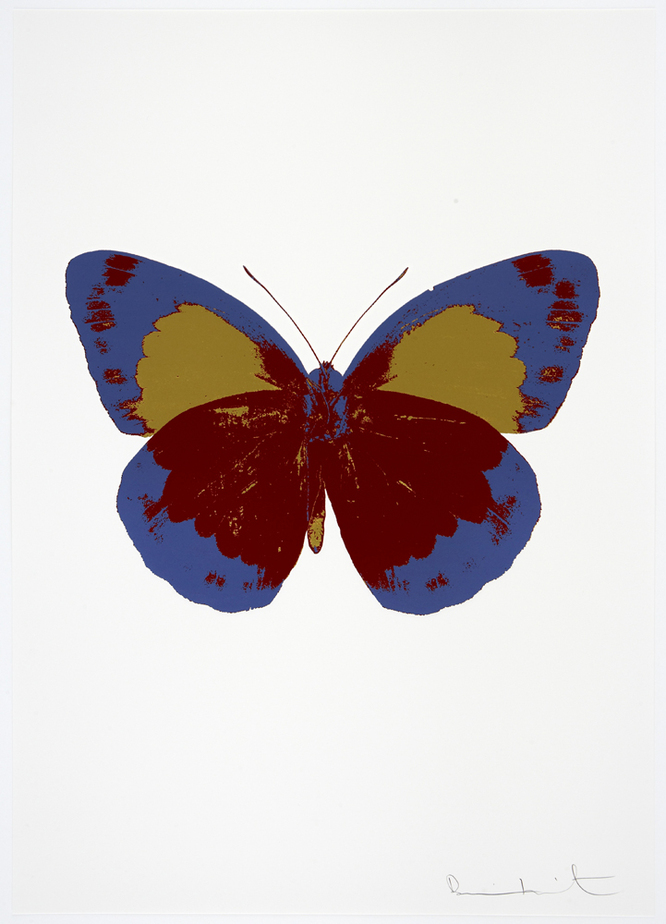 Damienhirst, neo, hirst, The Souls by Damien Hirst, hirst butterfly