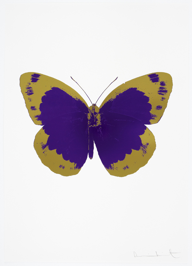 The Souls II by Damien Hirst (Imeprial Purple)