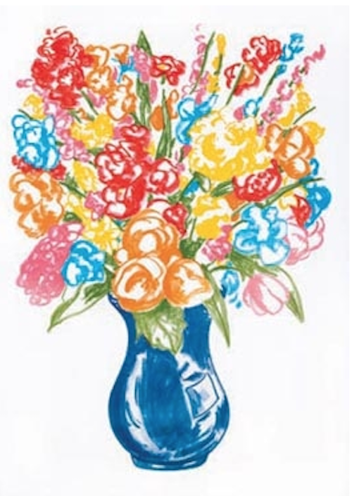 Vase of Flowers by Jeff Koons