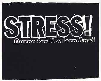 Stress (Negative) by Andy Warhol