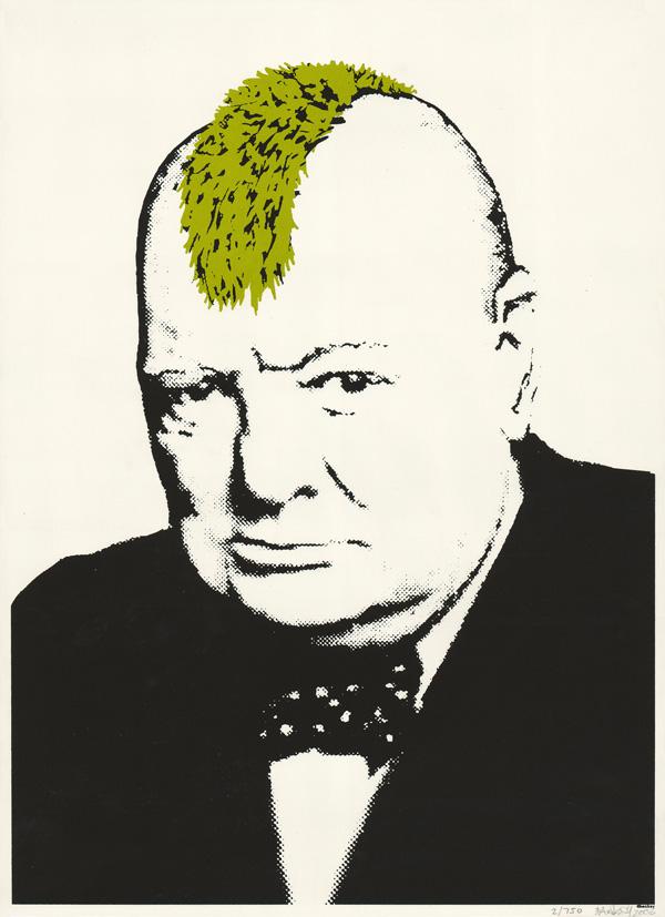 Turf War by Banksy