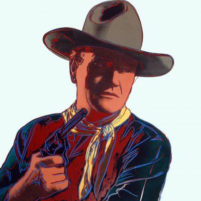 ANDYWARHOL, POP, WARHOL, John Wayne by Andy Warhol