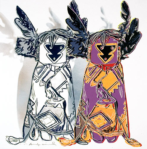 Kachina Dolls by Andy Warhol