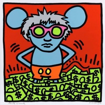 andywarhol, keithharing, popart
