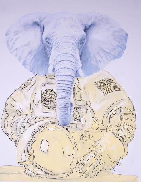 Elephant by Gillean Clark