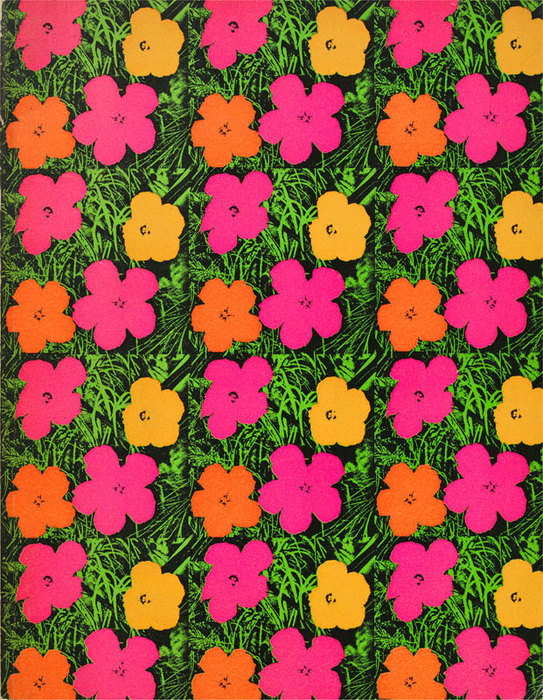 Andy Warhol Flower Paintings - Guy Hepner