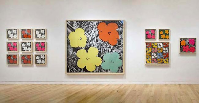 Andy Warhol Flower Paintings, Andy Warhol Flower Paintings