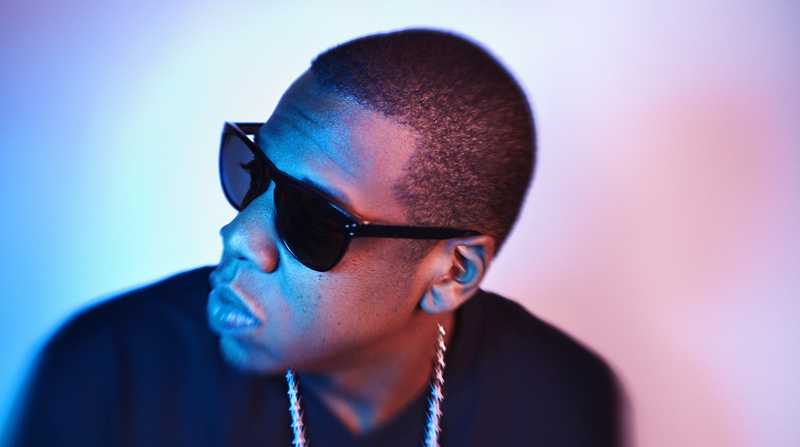 2 Jay-Z Portrait by Gavin Bond