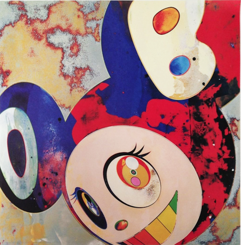 And Then Gargle Glop by Takashi Murakami