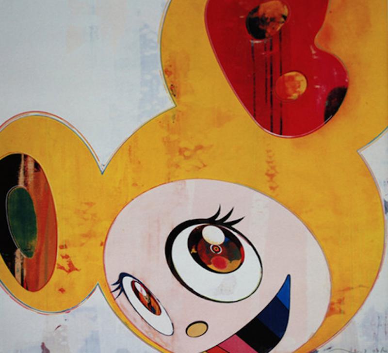 And then 3000 Yellow by Takashi Murakami