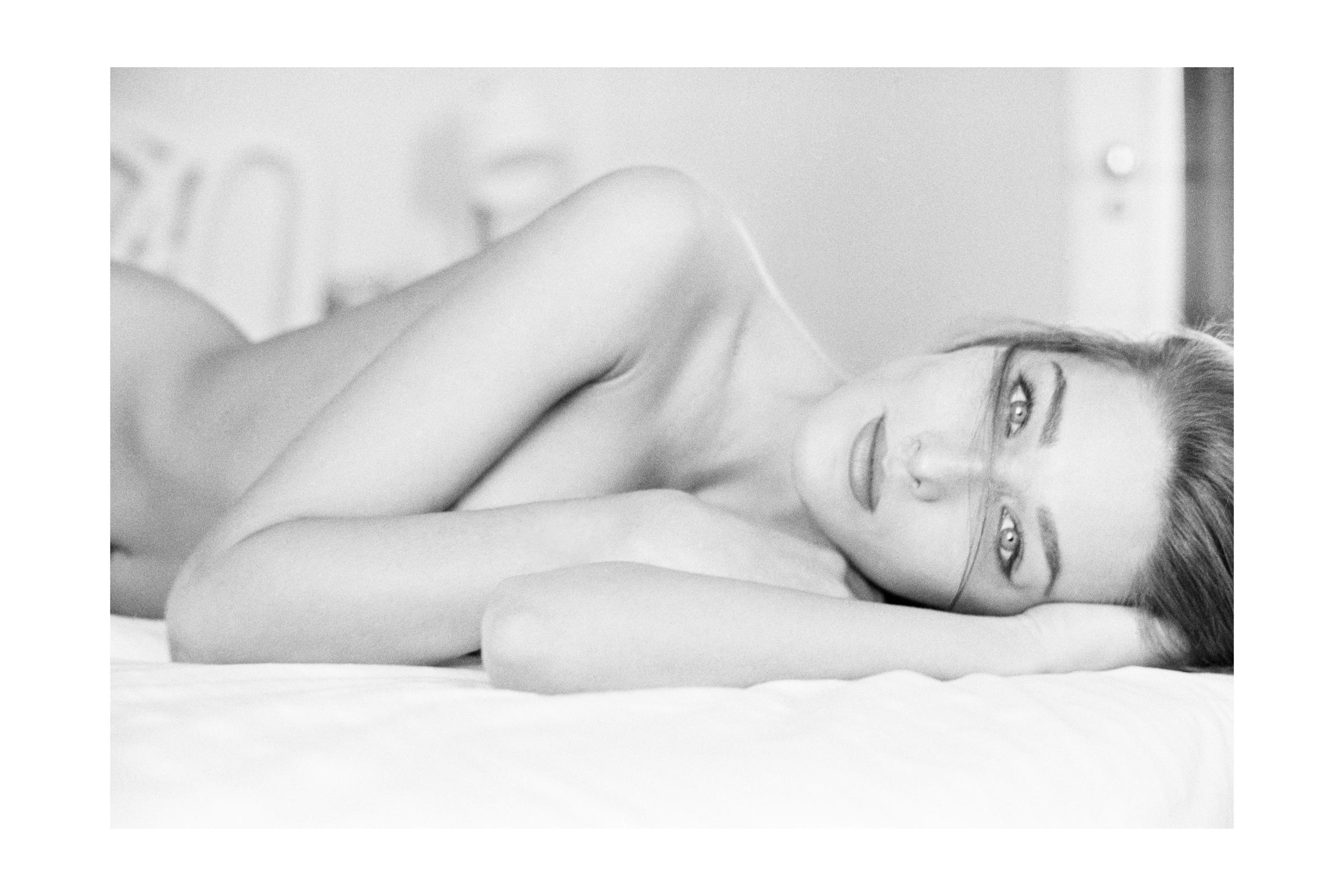 Carla Bruni by Antoine Verglas