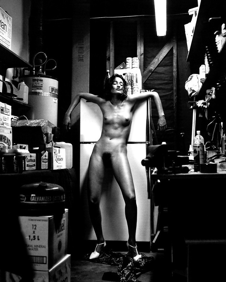 Domestic Nude II by Helmut Newton