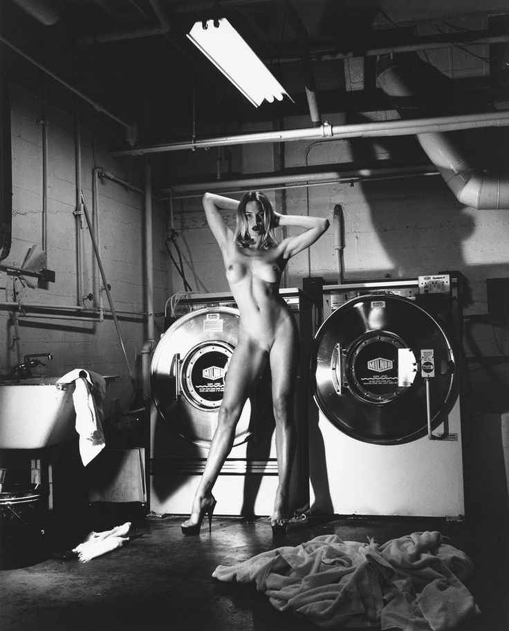 Domestic Nude III by Helmut Newton