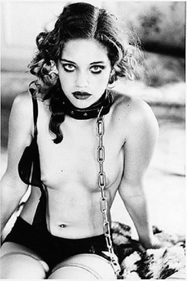 Girl in Chain by Ellen von Unwerth