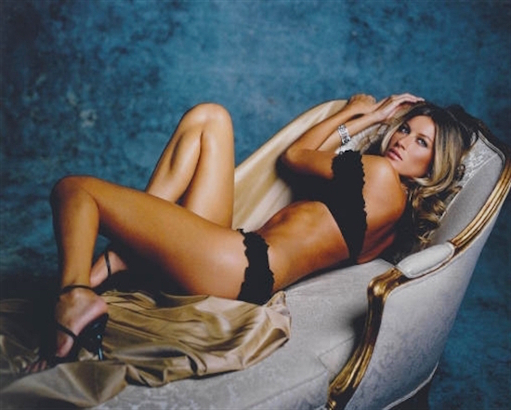 Gisele on the Couch by Sante D'Orazio