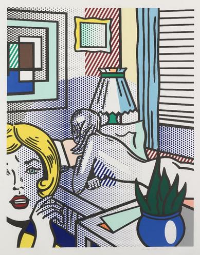Roommates by Roy Lichtenstein