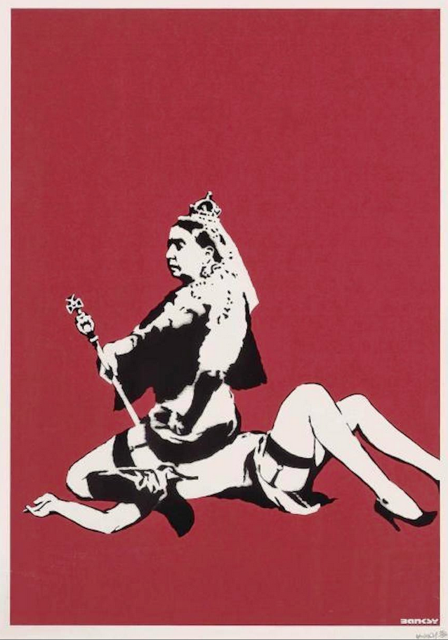 Queen Victoria by Banksy