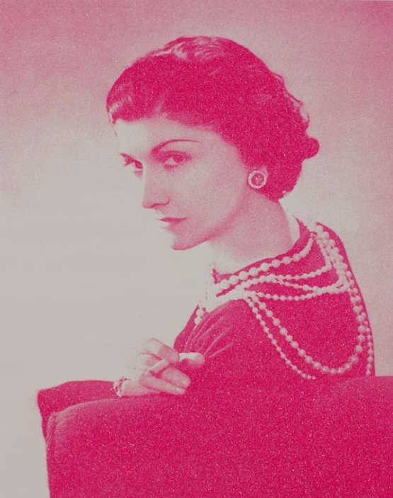 Coco Chanel (Magenta) by Russell young