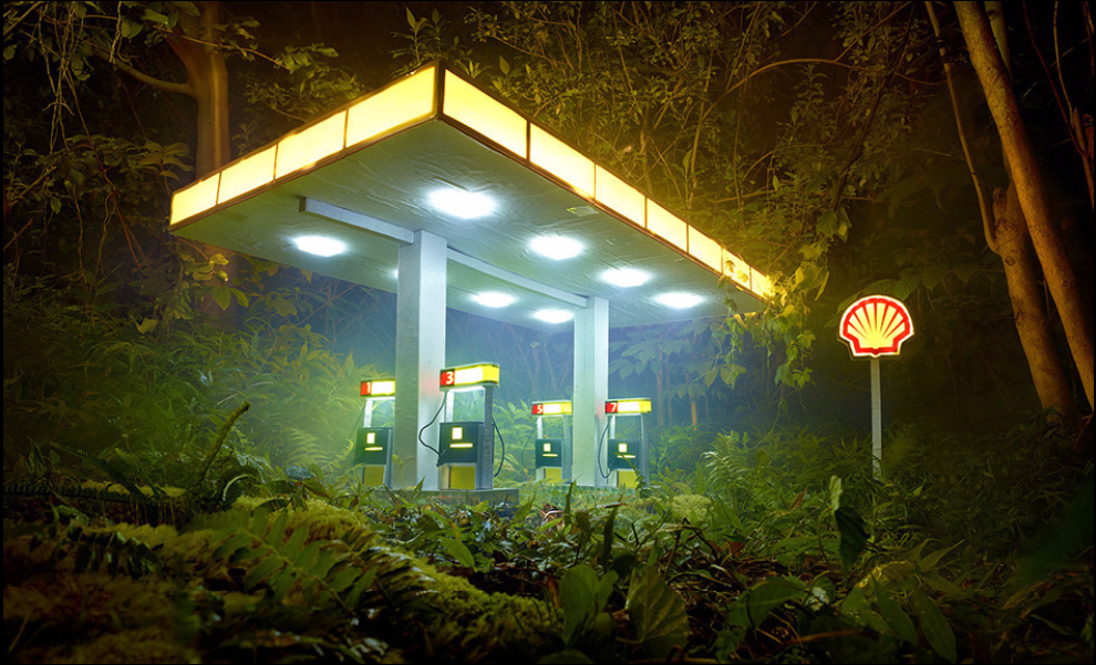Gas Shell by David LaChapelle