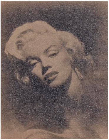 Glamour Marilyn (Sepia) by Russell Young