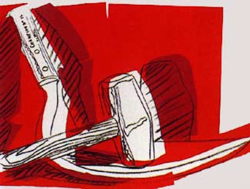 HS 162Hammer and Sickle 162 by Andy Warhol