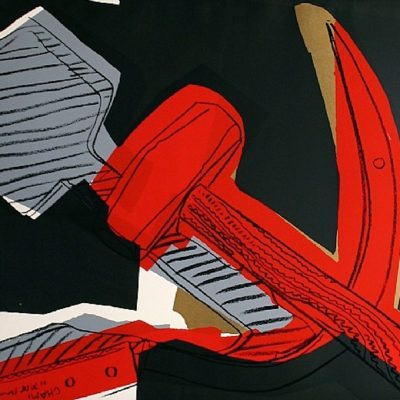 andywarhol, warhol, pop, pop art, hammer and sickle